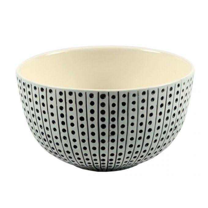 Tallentire House Bowl Urchin Duck Egg White