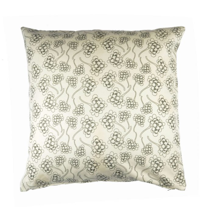 Tallentire House Cushion Square Chinese Flower Wild Dove