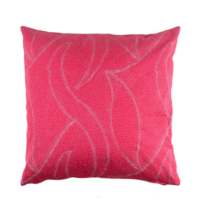 Tallentire House Cushion Square Dots Bright Rose