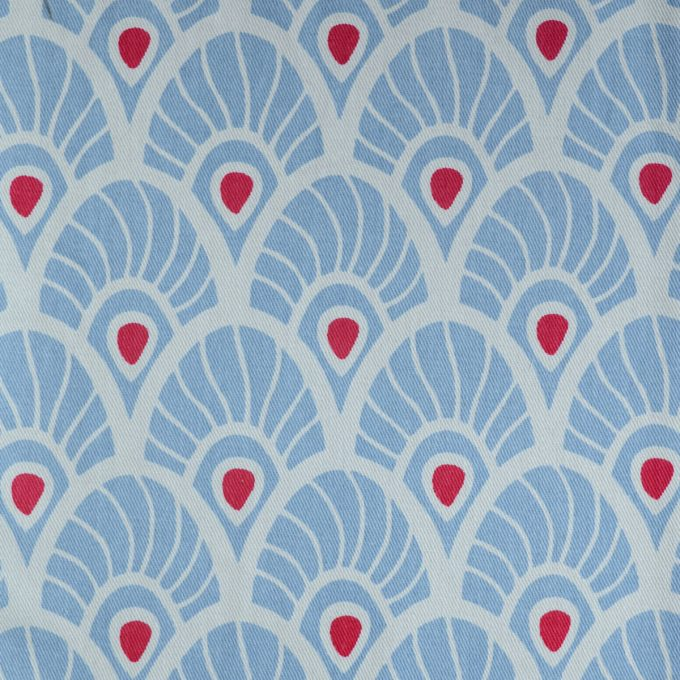 Tallentire House Fabrics Twill Feather Forget Me Knot