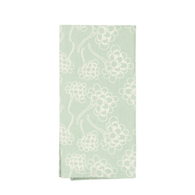 Tallentire House Napkin Chinese Flower Surfspray Inverse