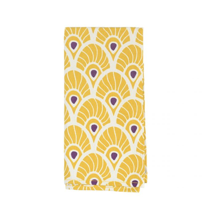 Tallentire House Napkin Feather Oil Yellow
