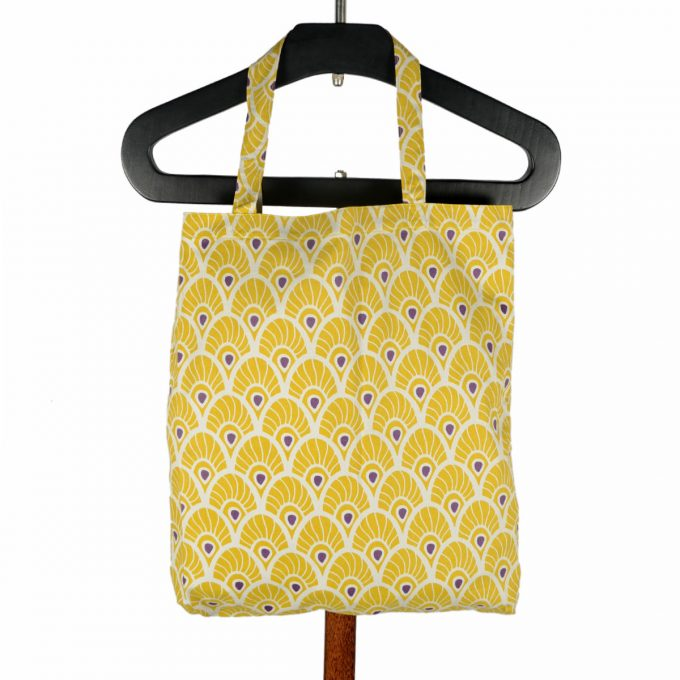 Tallentire House Shopper Feather Oil Yellow