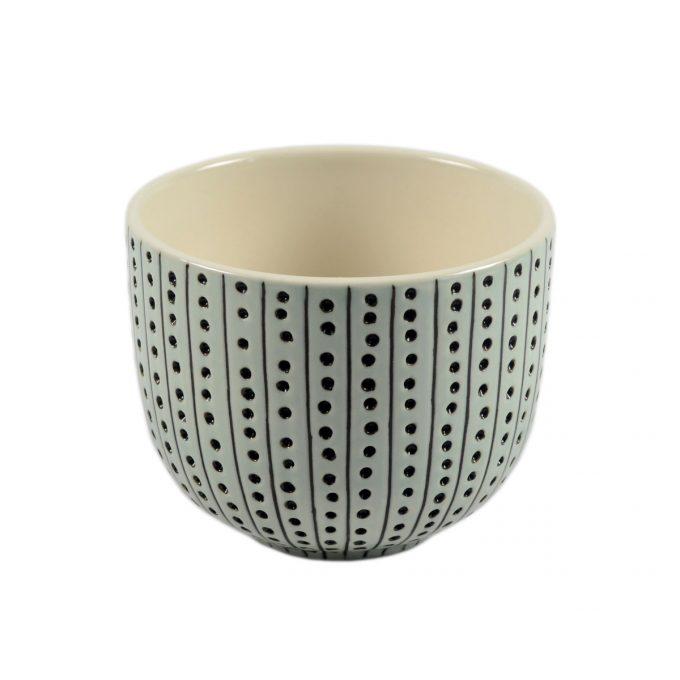 Tallentire House Tea Cup Urchin Duck Egg White