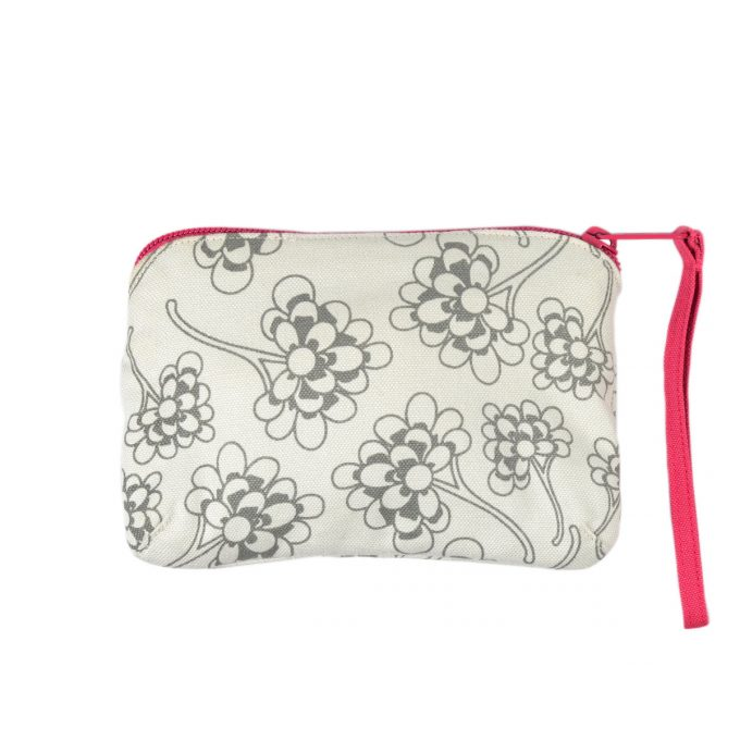 Tallentire House Travel Purse Chinese Flower Wild Dove