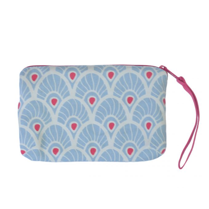 Tallentire House Travel Purse Feather Forget Me Knot